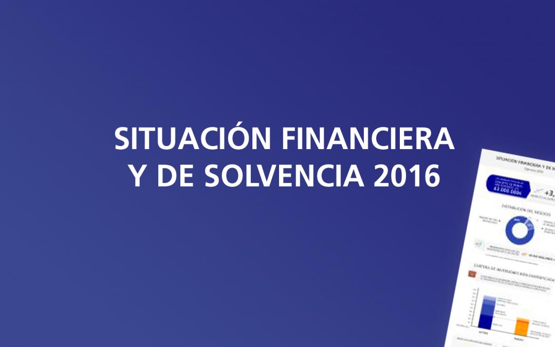 Situación financiera y de solvencia 2016