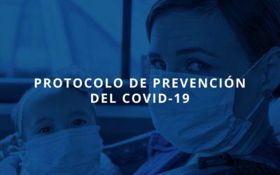 Protocolo de prevención del Covid-19