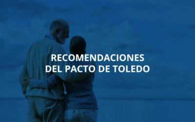 Recomendaciones del Pacto de Toledo